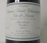Mondeuse Tradition 2005