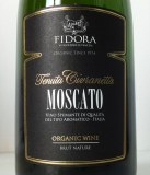 Moscato spumante Brut Nature