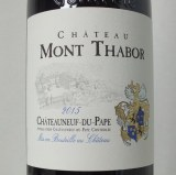 Châteauneuf Mont Thabor 2015