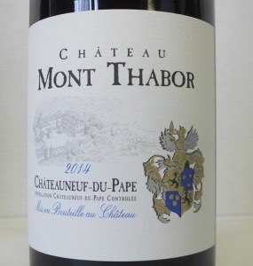 Châteauneuf Mont Thabor 2014