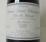 Mondeuse Tradition 2003