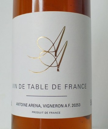 Vin de table sweet A. Arena