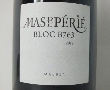 Bloc B763 2012 without added sulphites