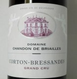 Corton Grand Cru Les Bressandes 2017 without added sulphites