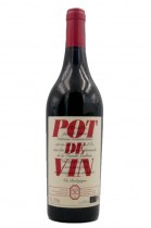 Pot de vin rouge