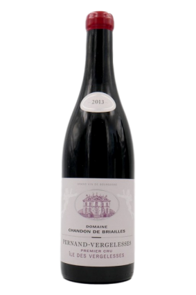 Pernand Vergelesses red 1er cru 2013 without sulfites added
