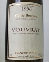 Vouvray Botrytis 1996