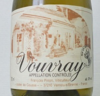 Vouvray moelleux 1989