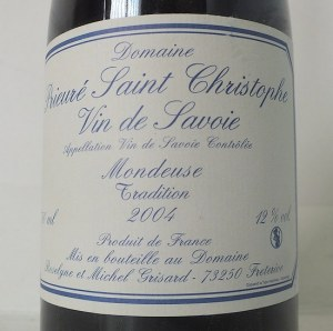 Mondeuse Tradition 2004