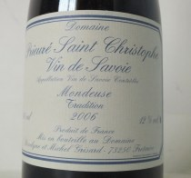 Mondeuse Tradition 2006