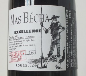 Mas Becha Excellence rouge 2015