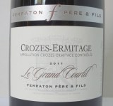 Crozes-Hermitage Le Grand Courtil rouge 2011