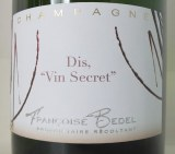Dis, vin secret Extra Brut (base 2008)