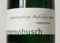 Riesling Marienburg GG Fahrlay Reserve 2014